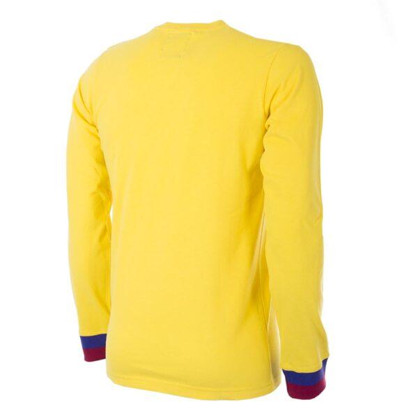 FC Barcelona Uit 1974 - 75 Retro Voetbalshirt 4