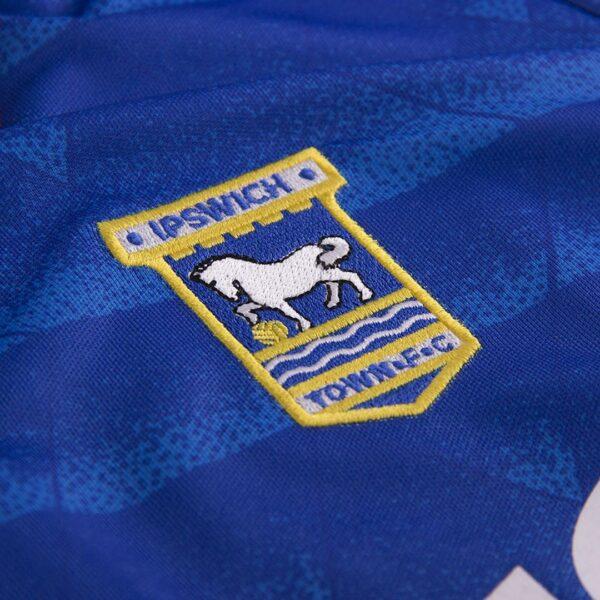 Ipswich Town 1991 - 92 Retro Voetbalshirt 2