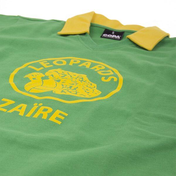 Zaïre WK 1974 Retro Voetbalshirt 6