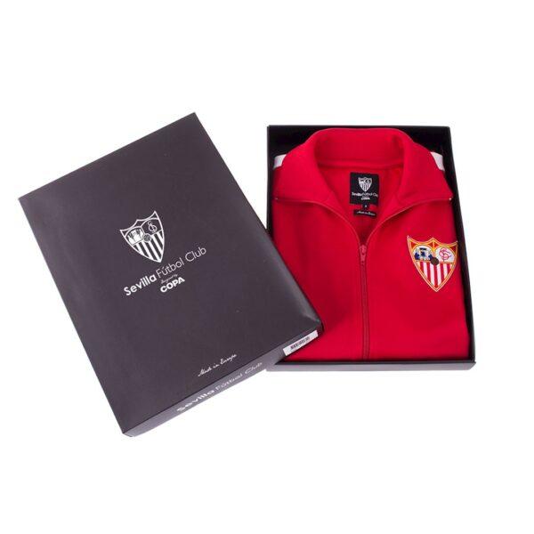 Sevilla FC 1970 - 71 Retro Trainingsjack 8