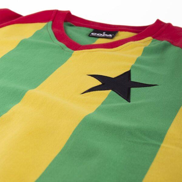 Ghana 1980's Retro Voetbalshirt 6
