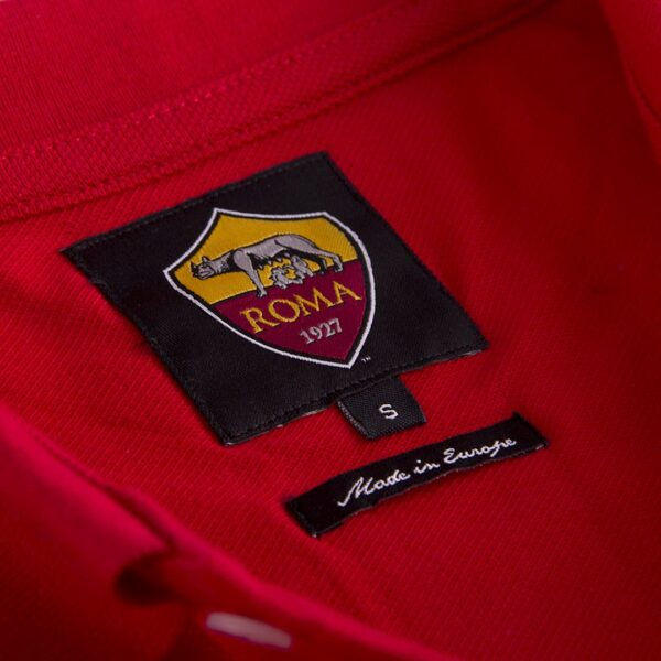 AS Roma 1961 - 62 Retro Voetbalshirt 6