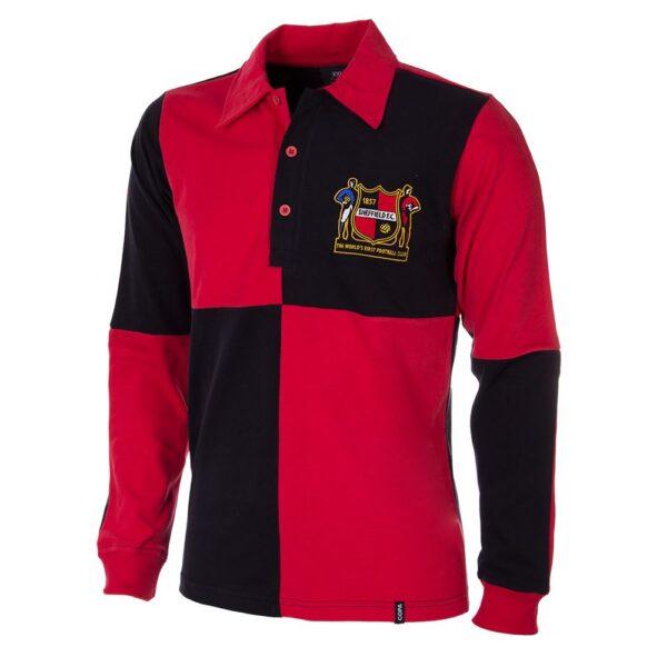 Sheffield FC 1950's Retro Voetbalshirt