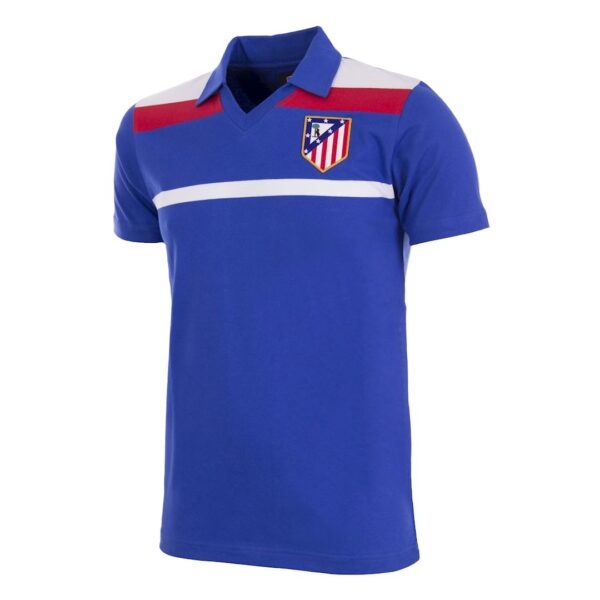 Atletico Madrid 1986 Third Retro Voetbalshirt