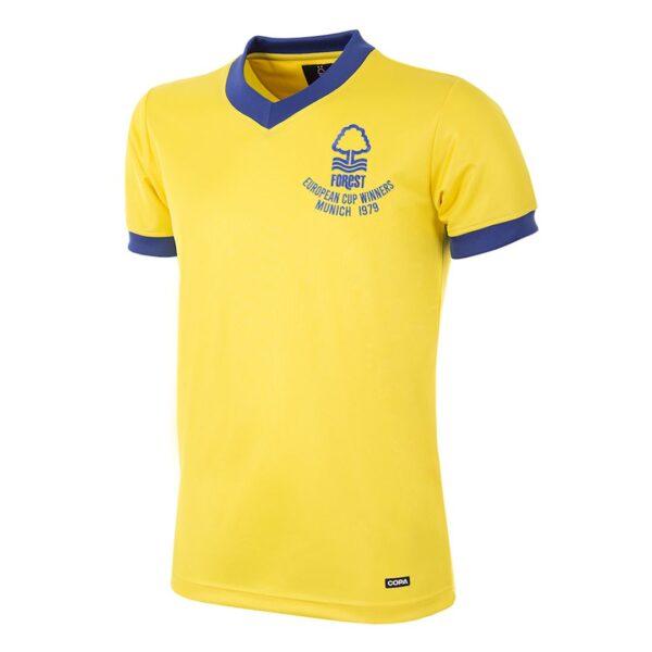 Nottingham Forest 1979-1980 Uit Retro Voetbalshirt