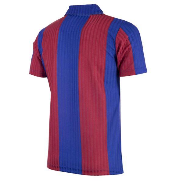 FC Barcelona 1990 - 91 Retro Voetbalshirt 4