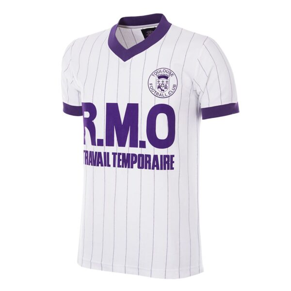 Toulouse FC 1983 - 84 Uit Retro Voetbalshirt