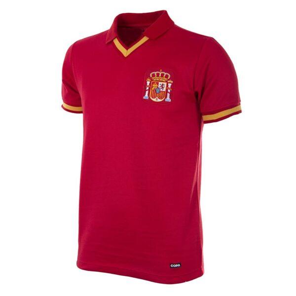 Spanje 1988 Retro Voetbalshirt