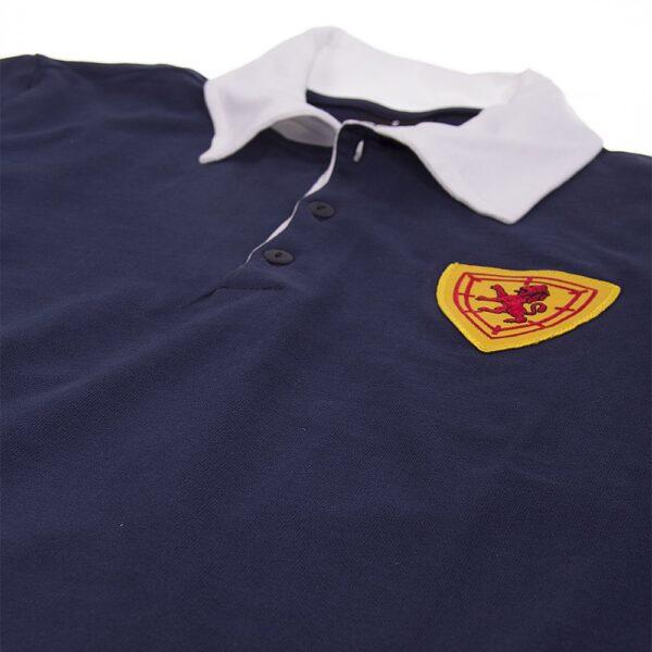 Schotland 1950's Retro Voetbalshirt 6
