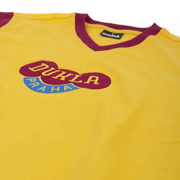 Dukla Praag Uit 1960's Retro Voetbalshirt 6