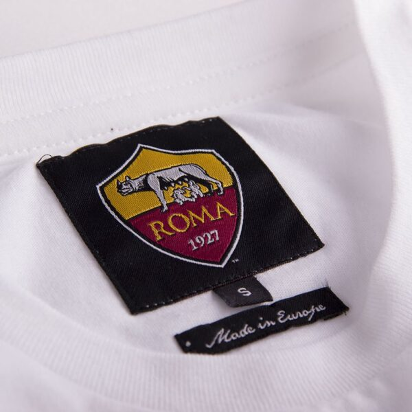 AS Roma Uit Retro T-Shirt 4