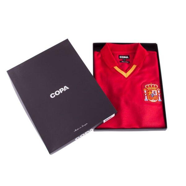 Spanje 1988 Retro Voetbalshirt 8