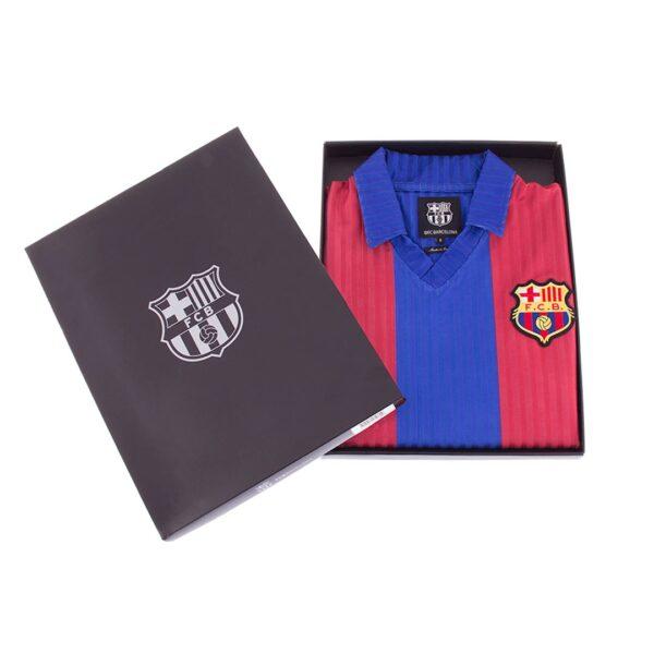 FC Barcelona 1990 - 91 Retro Voetbalshirt 8