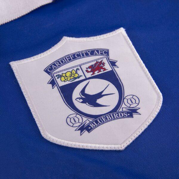 Cardiff City FC 1998 - 99 Retro Voetbalshirt 2