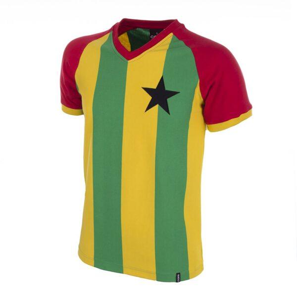 Ghana 1980's Retro Voetbalshirt