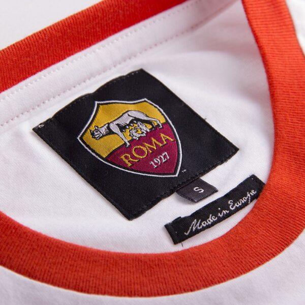 AS Roma Retro Logo T-Shirt 4