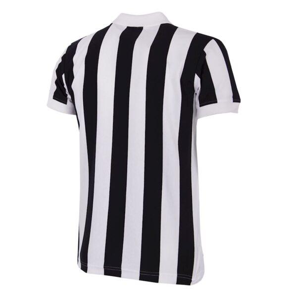 Juventus 1976 - 77 Coppa UEFA Retro Voetbalshirt 4