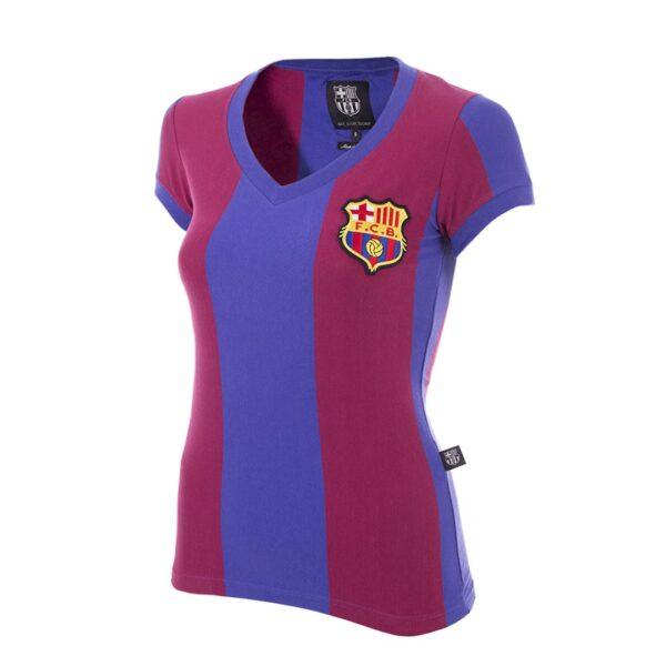 FC Barcelona 1976 - 77 Dames Retro Voetbalshirt