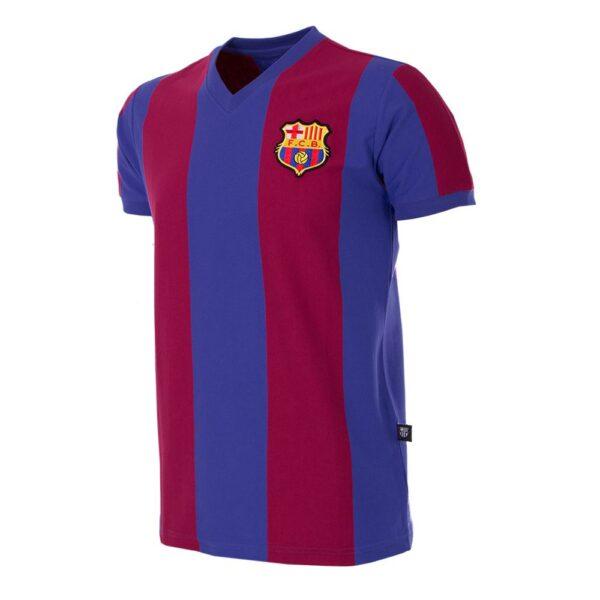 FC Barcelona 1976 - 77 Retro Voetbalshirt