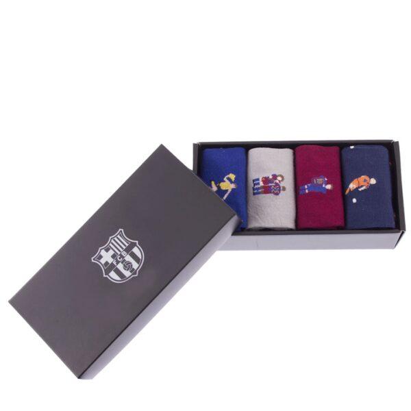 FC Barcelona Casual Sokken Box Set 2