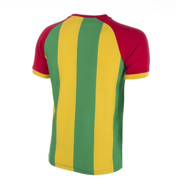 Ghana 1980's Retro Voetbalshirt 4