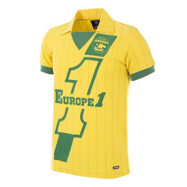 FC Nantes 1982 - 83 Retro Voetbalshirt