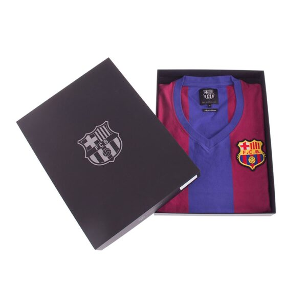 FC Barcelona 1976 - 77 Dames Retro Voetbalshirt 8