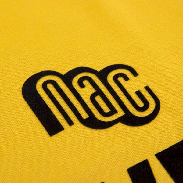 NAC Breda 1989 - 90 Retro Voetbalshirt 2
