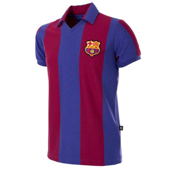 FC Barcelona 1980 - 81 Retro Voetbalshirt