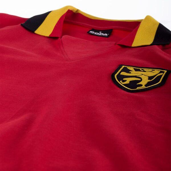 België 1960's Retro Voetbalshirt 6