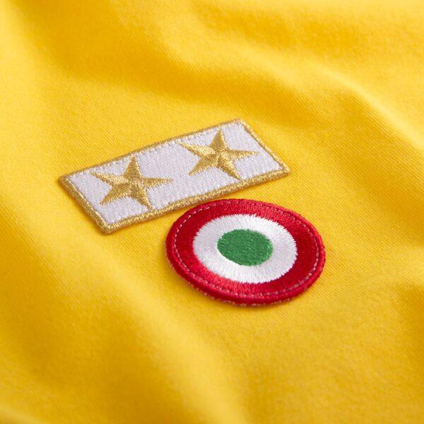 Juventus 1983 - 84 Uit Coppa delle Coppe UEFA Retro Voetbalshirt 2