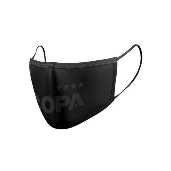 COPA All Black Certified Mondkapje 2