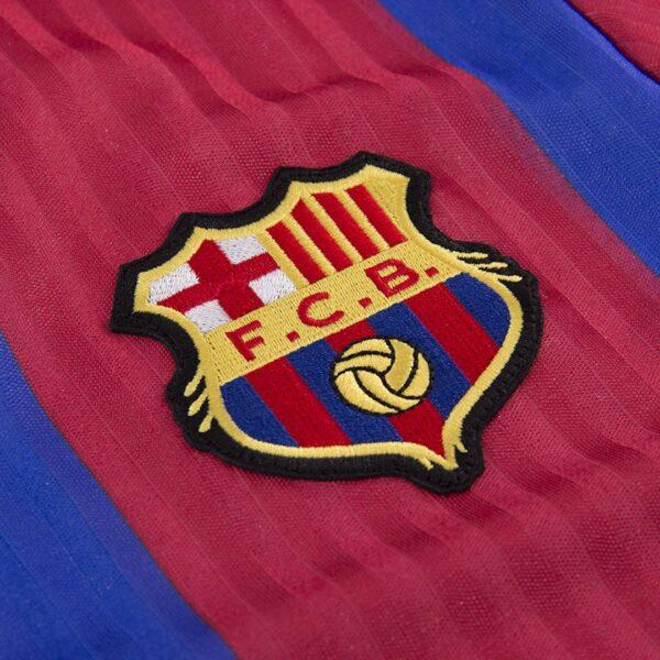 FC Barcelona 1990 - 91 Retro Voetbalshirt 2