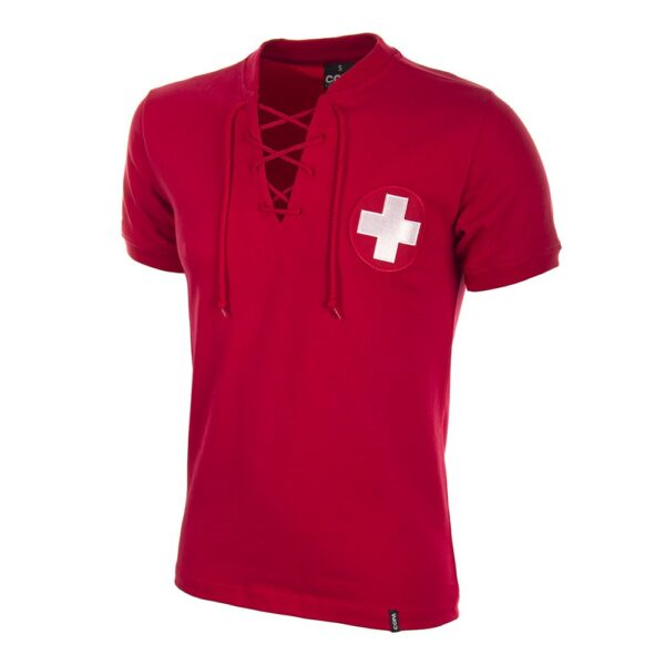 Zwitserland WK 1954 Retro Voetbalshirt
