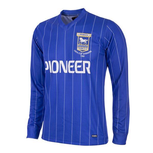 Ipswich Town 1981 - 82 Retro Voetbalshirt