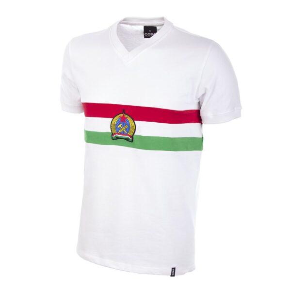Hongarije Uit 1950's Retro Voetbalshirt