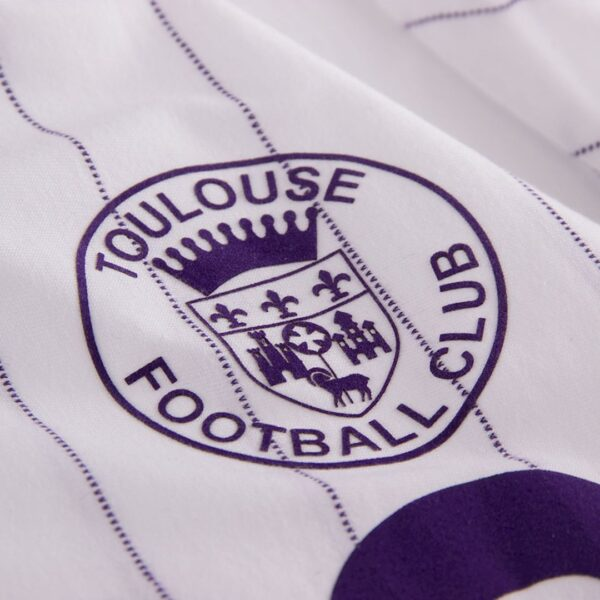 Toulouse FC 1983 - 84 Uit Retro Voetbalshirt 2