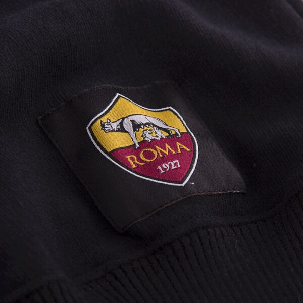 AS Roma Black Out Retro Logo Sweater 6