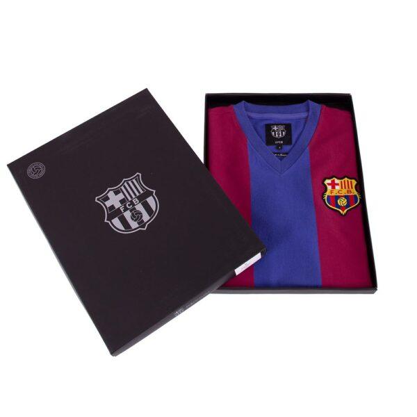FC Barcelona 1976 - 77 Retro Voetbalshirt 8