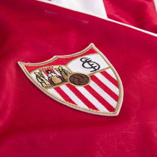 Sevilla FC 1992 - 93 Uit Retro Voetbalshirt 2