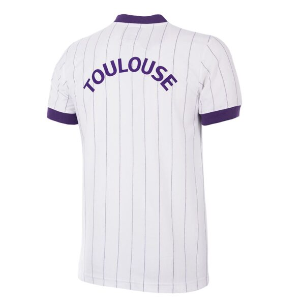 Toulouse FC 1983 - 84 Uit Retro Voetbalshirt 4