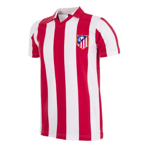 Atletico Madrid 1985 - 86 Retro Voetbalshirt