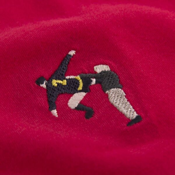 Kung Fu embroidery T-Shirt 2