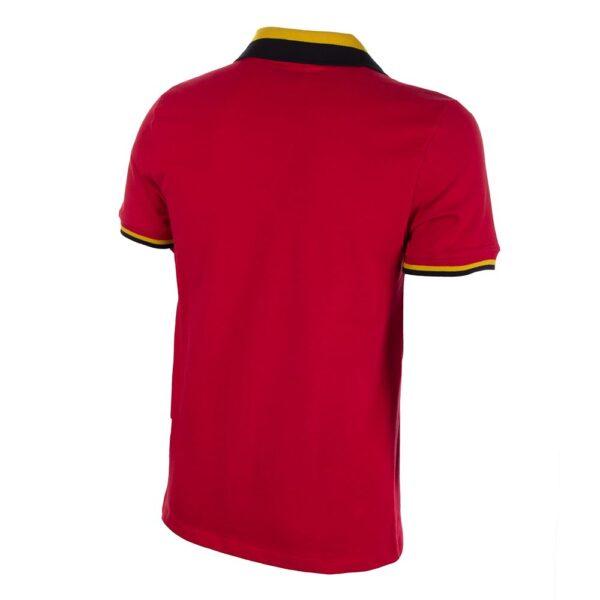 België 1960's Retro Voetbalshirt 4
