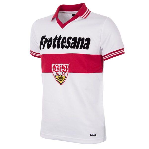 VfB Stuttgart 1977 - 78 Retro Voetbalshirt