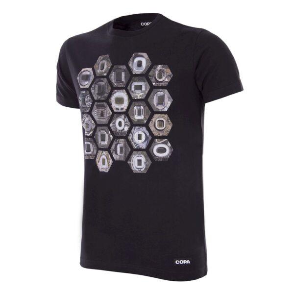 Hexagon Stadium T-Shirt | Zwart