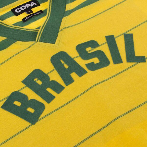 Brazilië 1984 Retro Voetbalshirt 4