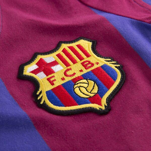 FC Barcelona 1976 - 77 Dames Retro Voetbalshirt 2