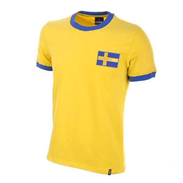 Zweden 1970's Retro Voetbalshirt
