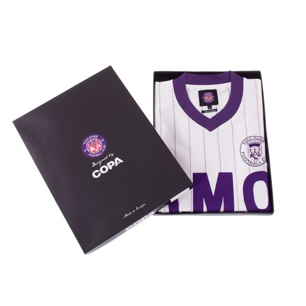 Toulouse FC 1983 - 84 Uit Retro Voetbalshirt 10